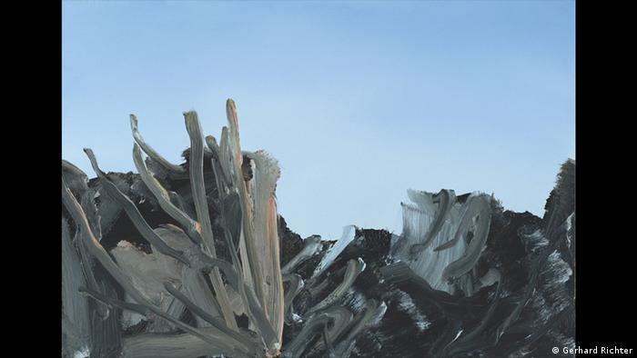 Gerhard Richter painting, Abstract Image (1984) (Gerhard Richter)
