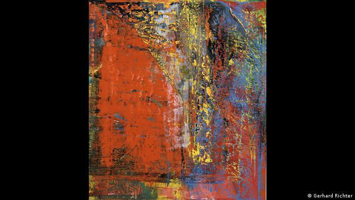 Gerhard Richter painting, Still (1986) (Gerhard Richter)