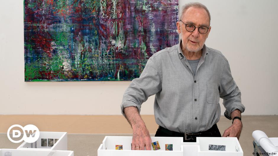 Streit Um Fruhe Arbeiten Von Gerhard Richter Kunst Dw 19 12 2019