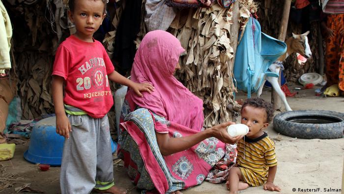 Jemen | Jemeniten auf der Flucht vor Kampfhandlungen (Reuters/F. Salman)