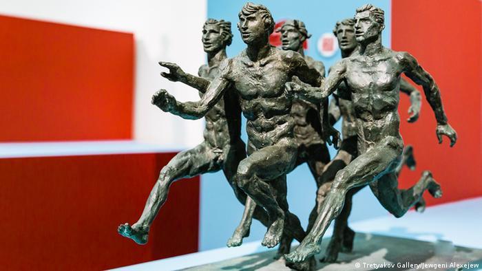 Скульптура Михаила Переяславца Марафон