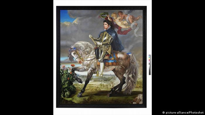 'Equestrian Portrait of Phillip II' by Kehinde Wiley