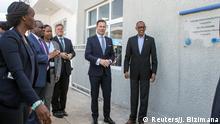 Ruandas Präsident Paul Kagame bei Einweihung von VW-Werk in Kigali
