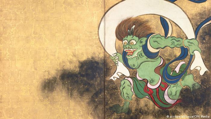Фудзин - японский бог ветра