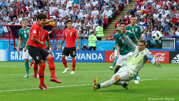 FIFA Fußball-WM 2018 in Russland | Deutschland vs. Südkorea | Tor Südkorea (0:1) (Reuters/P. Olivares )