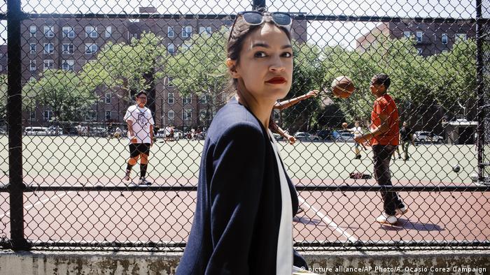 Alexandria Ocasio-Cortez, una latina de 28 años, candidata por Nueva York. (picture alliance/AP Photo/A. Ocasio Corez Campaign)