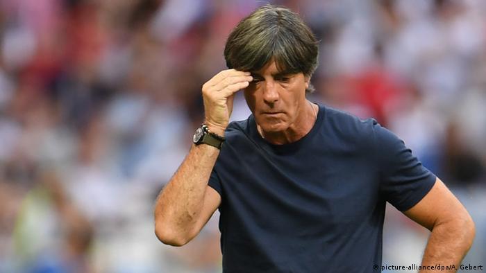 FIFA Fußball-WM 2018 in Russland | Südkorea vs. Deutschland | Joachim Löw, Bundestrainer (picture-alliance/dpa/A. Gebert)