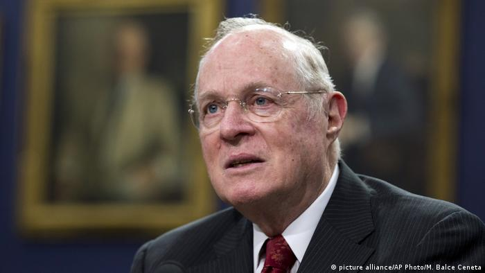 USA - Richter Anthony M. Kennedy - Supreme Court (picture alliance/AP Photo/M. Balce Ceneta)