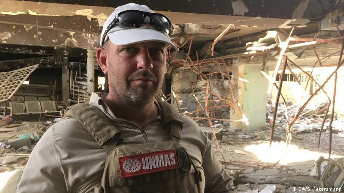 Mark Warburton in Mosul