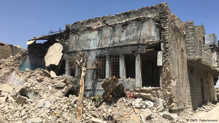 Мосул после бомбежек