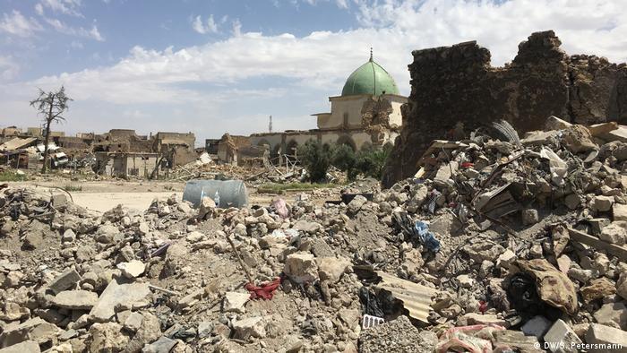 Razorena džamija Al Nuri u Mosulu