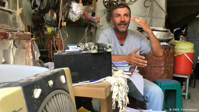 Irak Reportage Mossul 1 Jahr nach der Befreiung | Ahmad Mohammed Abdulrahman (DW/S. Petersmann)