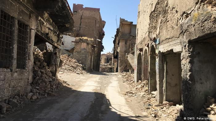 Ruins in Old Mosul
