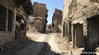 Мосул через год после освобождения