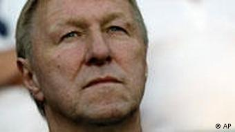 Portrait Trainer Horst Hrubesch. Foto: AP