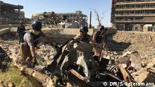 Irak Reportage Mossul 1 Jahr nach der Befreiung | Irakische Kampfmittelräumer, UNMAS