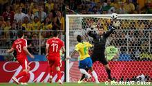 FIFA Fußball-WM 2018 in Russland | Brasilien vs. Serbien | Tor Brasilien (1:0)