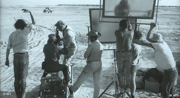 Dreharbeiten zu Deadlock, verschiedene Mitglieder des Filmteams beim Dreh (Verleih: 451)