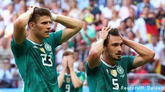 FIFA Fußball-WM 2018 in Russland | Deutschland verliert gegen Südkorea - Enttäuschung - Gomez und Hummels