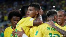 FIFA Fußball-WM 2018 in Russland | Brasilien vs. Serbien | Jubel Brasilien (2:0)