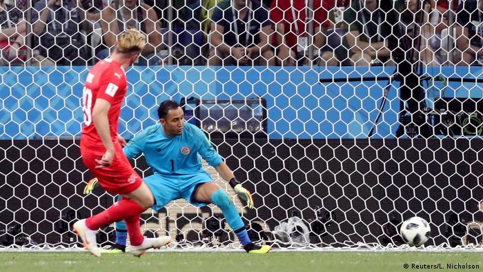 FIFA Fußball-WM 2018 in Russland | Schweiz vs Costa Rica | Tor Schweiz (2:1)