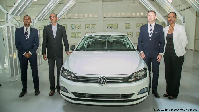 VW pogon u Ruandi