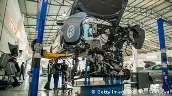 Ruanda VW eröffnet Werk (Getty Images/AFP/C. Ndegeya)