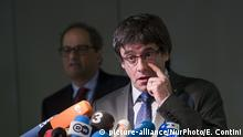 PK Carles Puigdemont in Berlin (picture-alliance/NurPhoto/E. Contini)