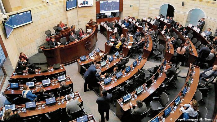 Kolumbien Bogota Senat