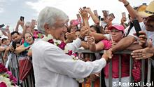 Mexiko Wahlkampf für das Präsidentenamt