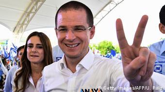 Mexiko Wahlkampf für das Präsidentenamt (Getty Images/AFP/U. Ruiz)