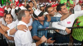 Mexiko Wahlkampf für das Präsidentenamt (Getty Images/AFP/J.C. Aguilar)