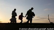 Migranten auf der Balkanroute