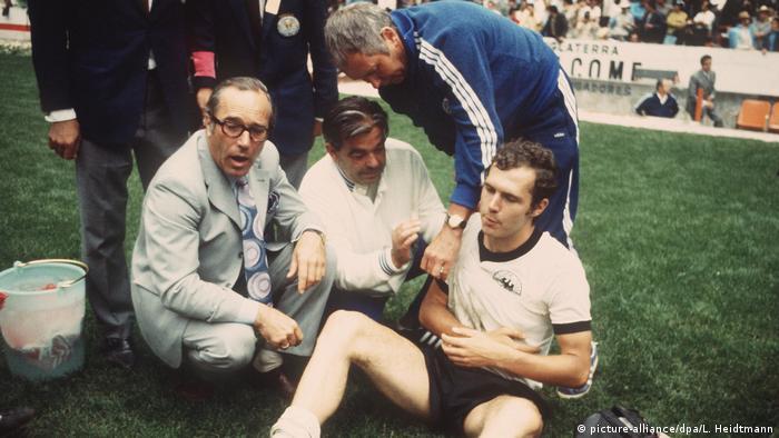 Матч Италия - Германия, 1970 год