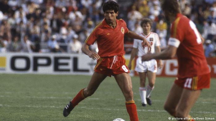 Матч СССР - Бельгия, 1986 год