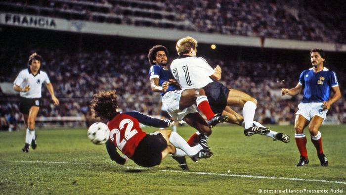 Матч Франция - Германия, 1982 год