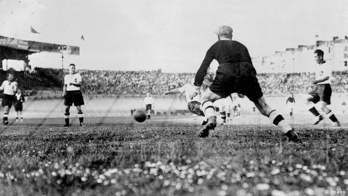 Weltmeisterschaft 1938 Schweiz gegen Deutschland (Imago)