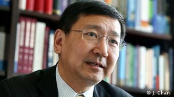 Hong Kong - Johannes Chan Man-Mun Rechtsprofessor der Juristischen Fakultät der Universität Hong Kong