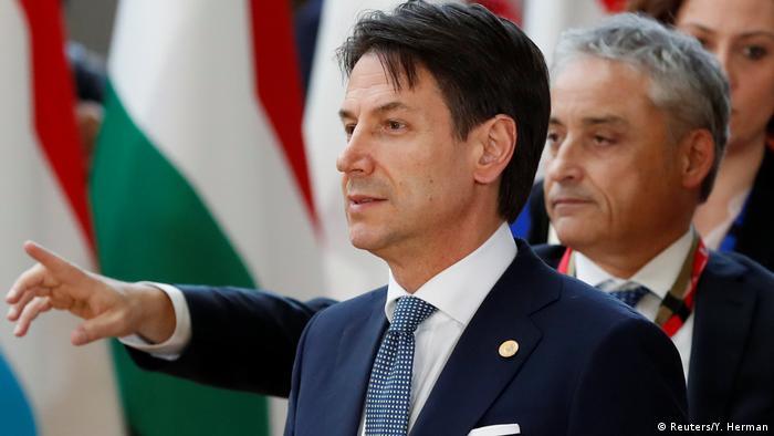 Прем'єр-міністр Італії Джузеппе Конте