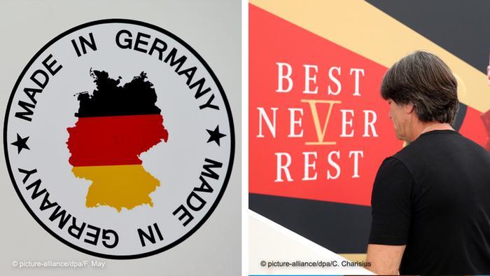 Bildkombo: Made in Germany und Best Never Rest