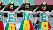 Soccer Football - World Cup - Group H - Senegal vs Colombia - Samara Arena, Samara, Russia - June 28, 2018 Senegal fans inside the stadium before the match REUTERS/Max Rossi