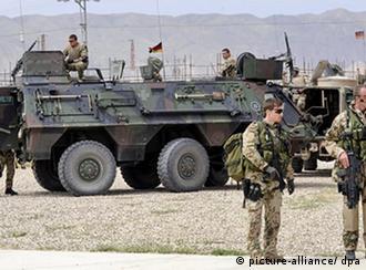 Солдаты бундесвера в афганистане