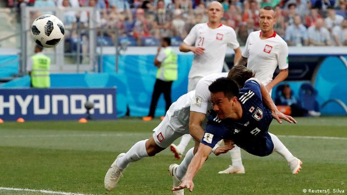 FIFA Fußball-WM 2018 in Russland | Japan vs Polen (Reuters/J. Silva)