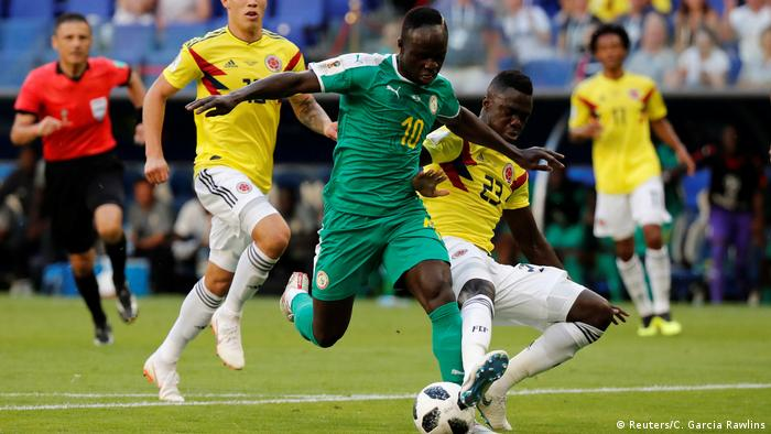 FIFA Fußball-WM 2018 in Russland | Senegal vs Kolumbien (Reuters/C. Garcia Rawlins)