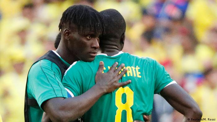 Senegal players (Reuters/M. Rossi)