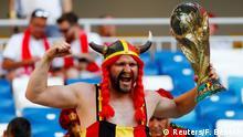 FIFA Fußball-WM 2018 in Russland | Belgien vs England | Fans