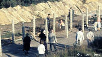 Deutschland Geschichte Berlin Mauer Mauerbau 1961