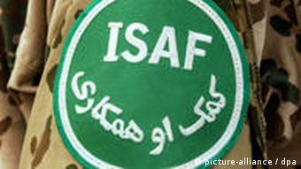 The ISAF emblem