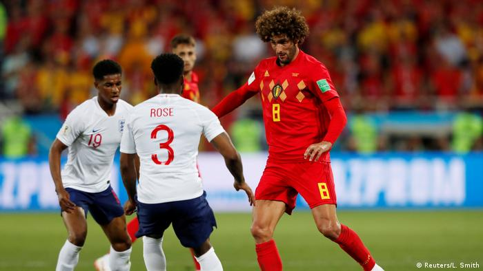 FIFA Fußball-WM 2018 in Russland | Belgien vs England (Reuters/L. Smith)