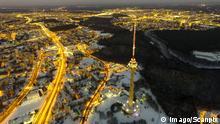 Litauen - Stadtansicht von Vilnius bei Nacht